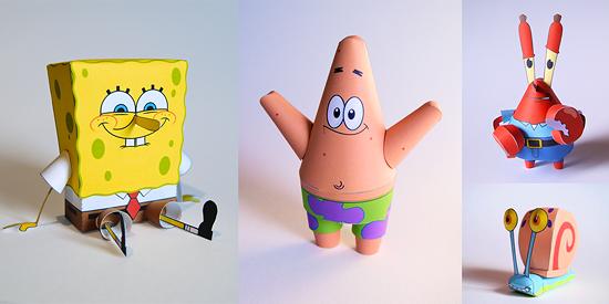 игрушки из бумаги схемы