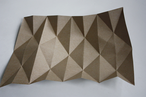 оригами абажур из бумаги своими руками