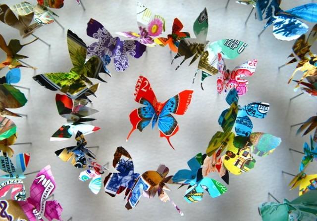 Своими руками поделка бабочки