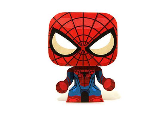 Человек паук из бумаги