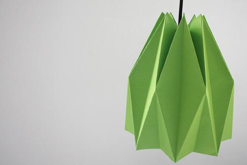 оригами украшения в интерьер