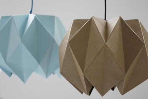 Поделки оригами украшения в интерьер