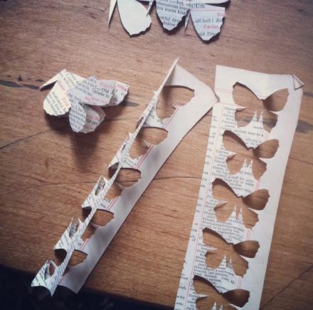 как сделать бабочки из бумаги