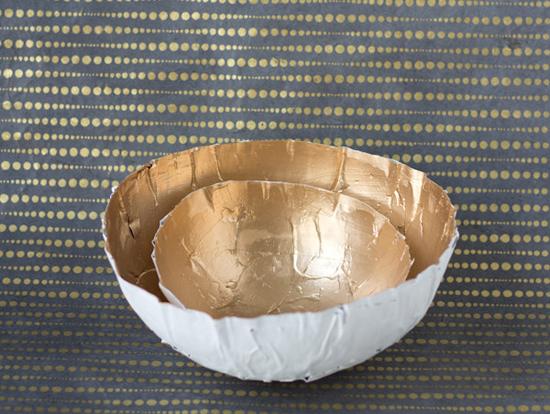тарелка папье маше
