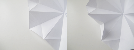 как сделать бриллиант из бумаги