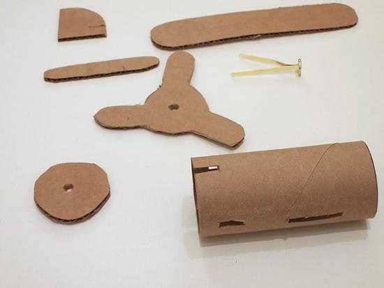 поделки из картона для детей