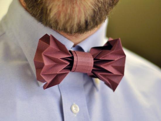 схема банта (галстука бабочки)