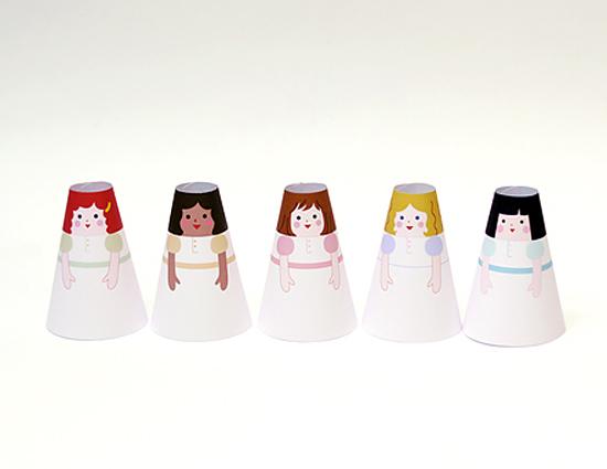 куклы из бумаги
