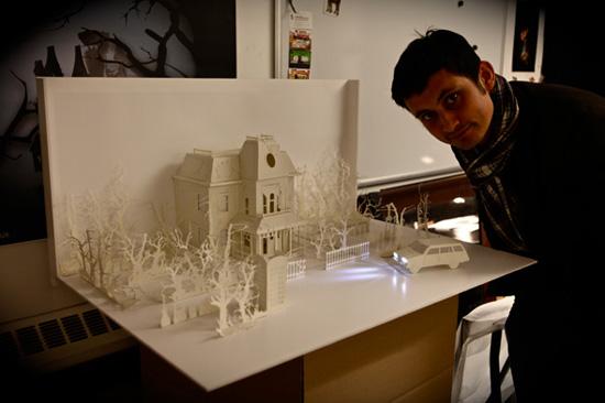 архитектура из бумаги