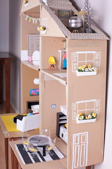 Как сделать для кукол мебель фото 328