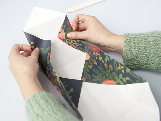 как сделать коробочку оригами