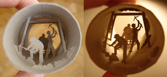 поделки из рулончиков от туалетной бумаги
