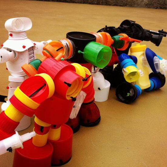 Игрушки своими руками мусора