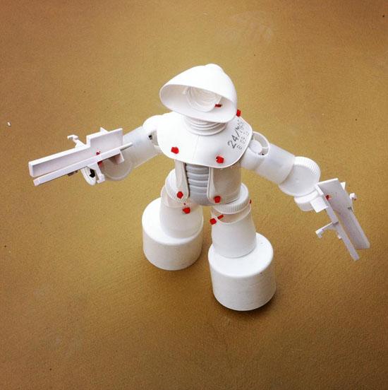 Поделка в школу робот 50