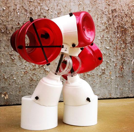 сделать робота из подручных средств