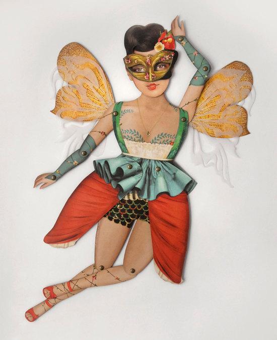 красивые бумажные куклы