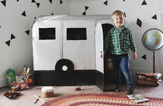 фургон-домик для ребенка своими руками