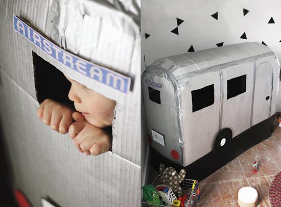 домик-фургончик для ребенка своими руками