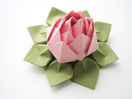 Лотос оригами видео мастер класс