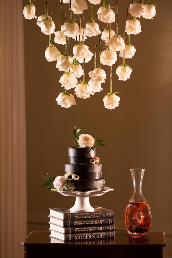 оформление розами
